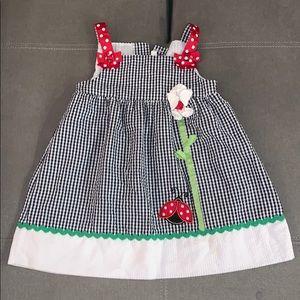 Emma Rose Ladybug dress